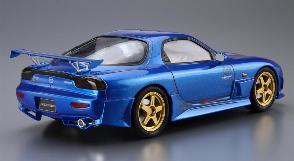 マツダスピード FD3S RX-7 Aスペック GTコンセプト '99 (マツダ)(プラモデル)(アオシマ1/24 ザ・チューンドカーNo.027)商品画像_3