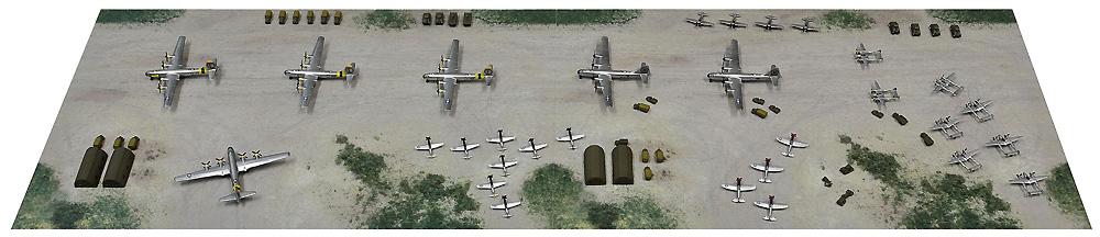 WW2 アメリカ 第20航空軍 マリアナ諸島基地プラモデル(ピットロードスカイウェーブ S シリーズNo.SPS008)商品画像_1