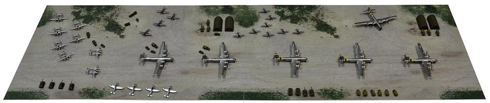 WW2 アメリカ 第20航空軍 マリアナ諸島基地プラモデル(ピットロードスカイウェーブ S シリーズNo.SPS008)商品画像_2