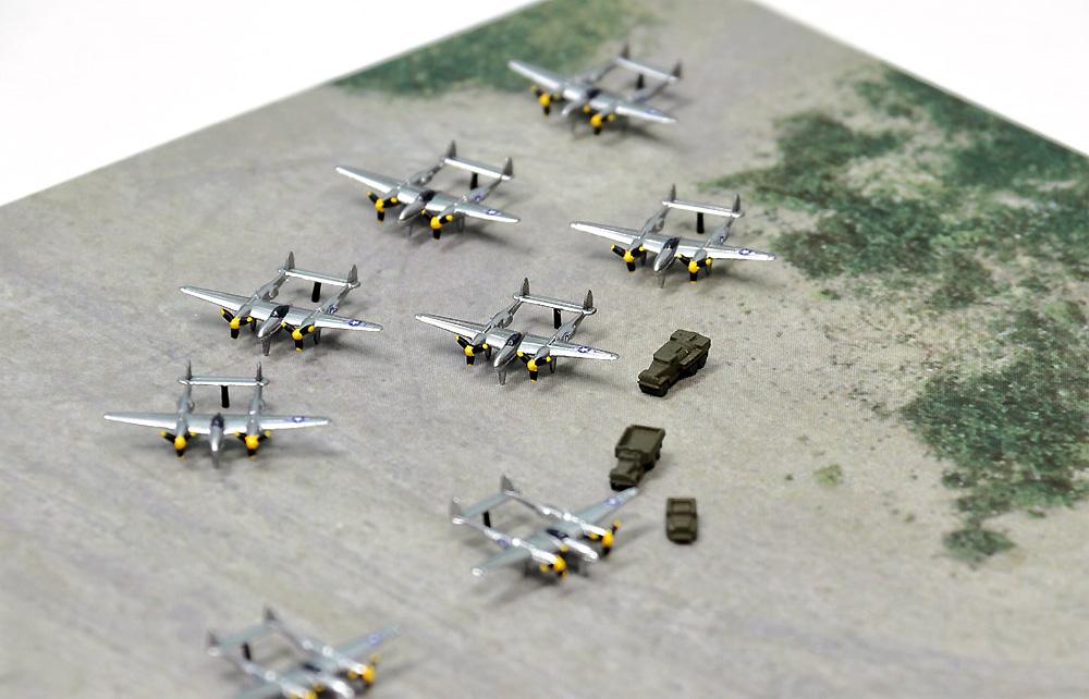 WW2 アメリカ 第20航空軍 マリアナ諸島基地プラモデル(ピットロードスカイウェーブ S シリーズNo.SPS008)商品画像_4