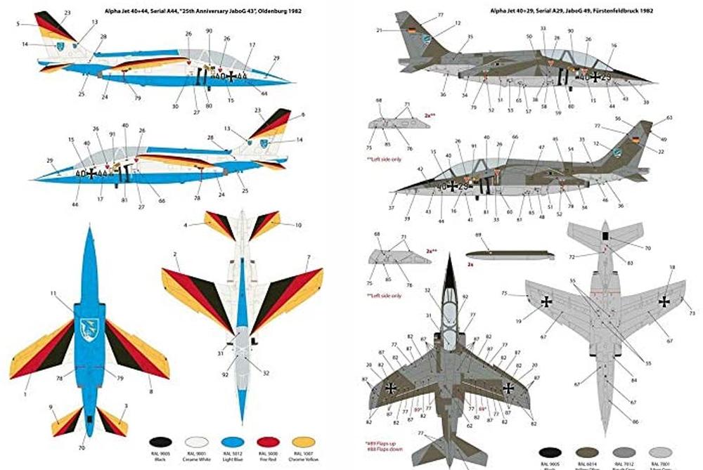 アルファジェット ドイツ空軍プラモデル(キネティック1/48 エアクラフト プラモデルNo.K48087)商品画像_1