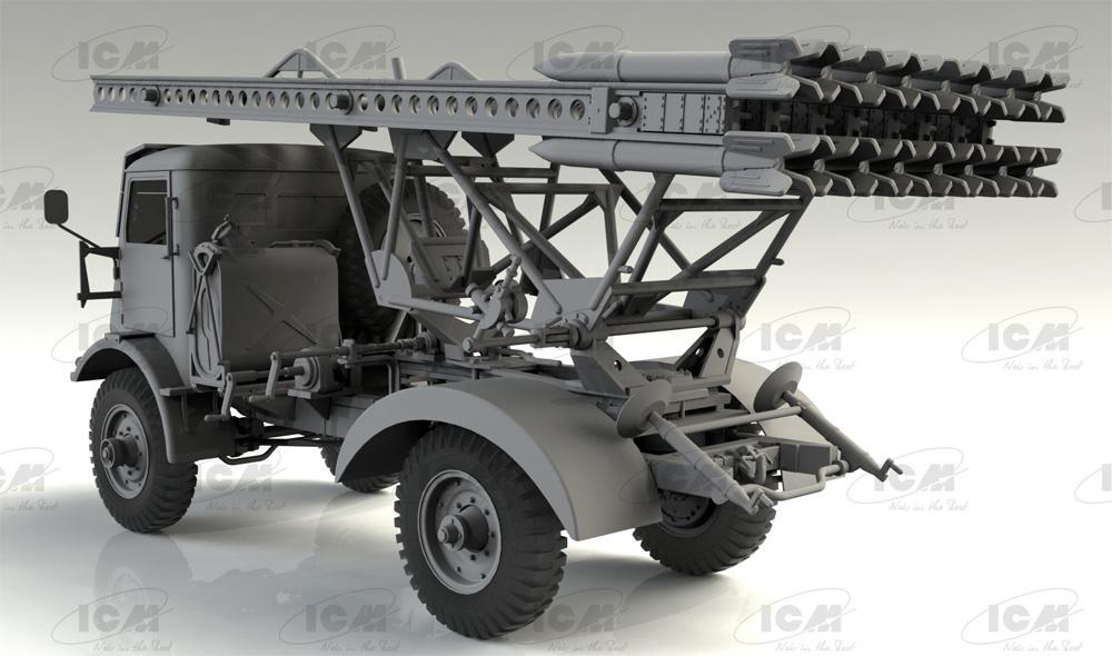 ソビエト BM-13-16 多連装ロケットランチャー W.O.T8車体プラモデル(ICM1/35 ミリタリービークル・フィギュアNo.35591)商品画像_1