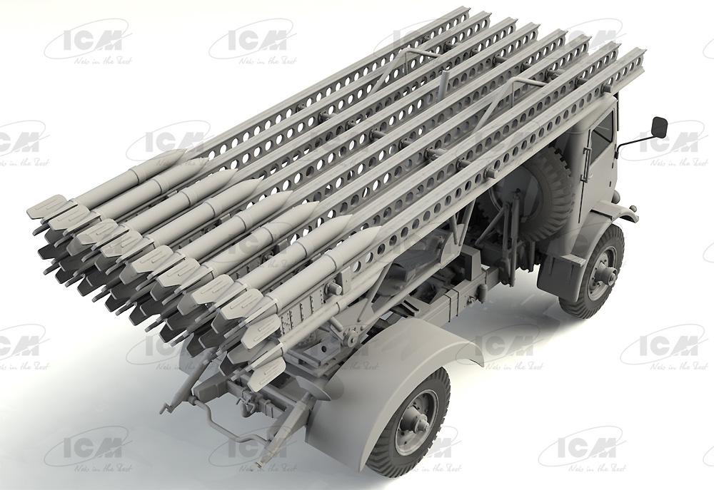 ソビエト BM-13-16 多連装ロケットランチャー W.O.T8車体プラモデル(ICM1/35 ミリタリービークル・フィギュアNo.35591)商品画像_2