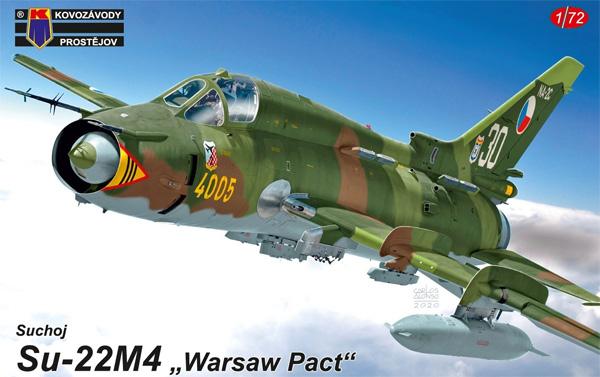 スホーイ Su-22M4 ワルシャワ条約加盟国プラモデル(KPモデル1/72 エアクラフト プラモデルNo.KPM0196)商品画像