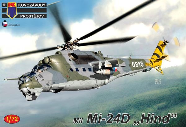 ミル Mi-24D ハインド ワルシャワ条約加盟国プラモデル(KPモデル1/72 エアクラフト プラモデルNo.KPM0199)商品画像