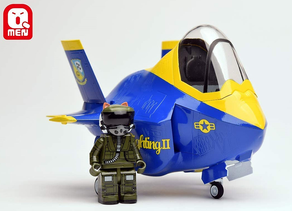 F-35B ライトニング 2プラモデル(キティホークQ-MENNo.01002)商品画像_3