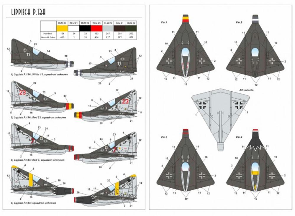 リピッシュ P.13a w/ケッテンクラートプラモデル(ARMORY1/144 エアクラフトNo.14507)商品画像_2