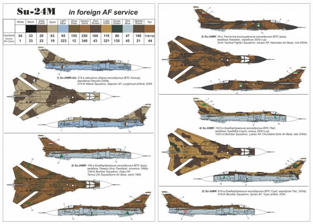 スホーイ Su-24M フェンサー D フォーリンサービスプラモデル(ARMORY1/144 エアクラフトNo.14703)商品画像_2