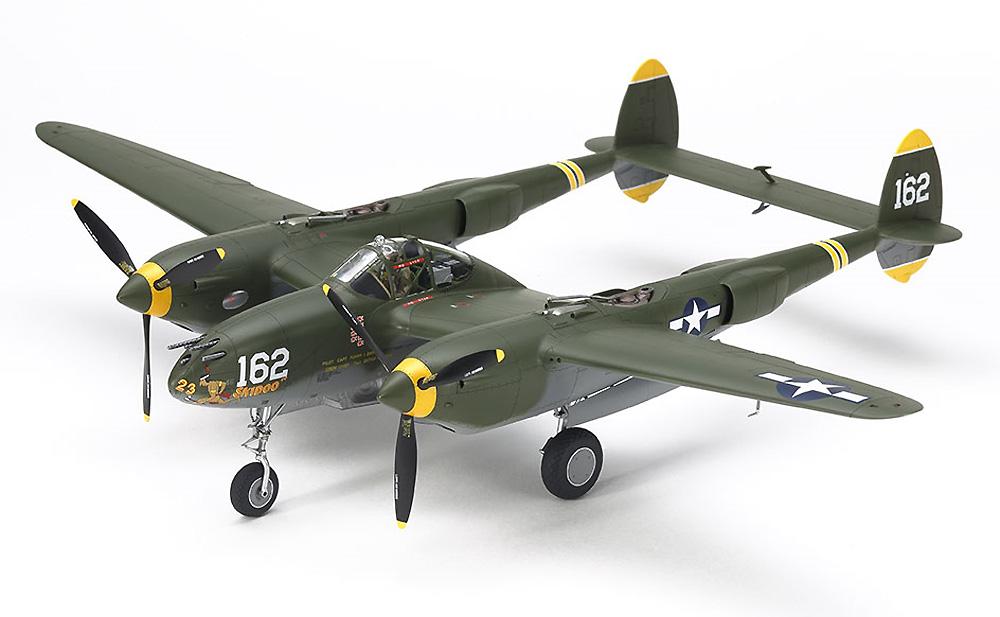 ロッキード P-38H ライトニングプラモデル(タミヤ1/48 飛行機 スケール限定品No.25199)商品画像_1
