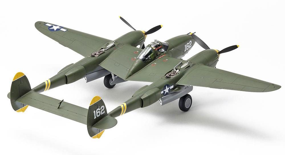 ロッキード P-38H ライトニングプラモデル(タミヤ1/48 飛行機 スケール限定品No.25199)商品画像_2