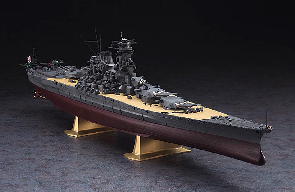 日本海軍 戦艦 大和 進水80周年記念プラモデル(ハセガワ1/450 有名艦船シリーズNo.SP466)商品画像_3