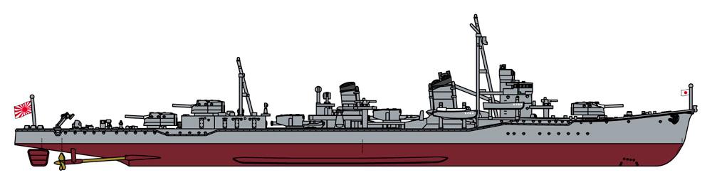 日本海軍 駆逐艦 峯雲 (朝潮型) フルハルスペシャルプラモデル(ハセガワ1/700 ウォーターラインシリーズ フルハルスペシャルNo.CH126)商品画像_2