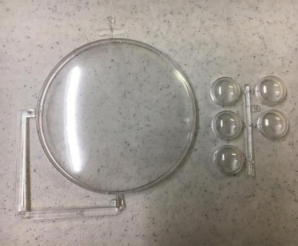 フライング ソーサープラモデル(アトランティスプラスチックモデルキットNo.A256)商品画像_2