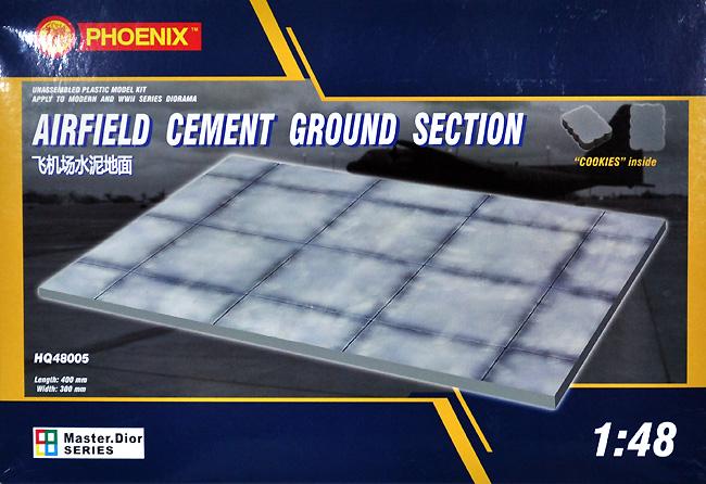 コンクリート飛行場エプロン (30 x 40cm)プラモデル(Phoenix ModelジオラマベースNo.HQ48005)商品画像