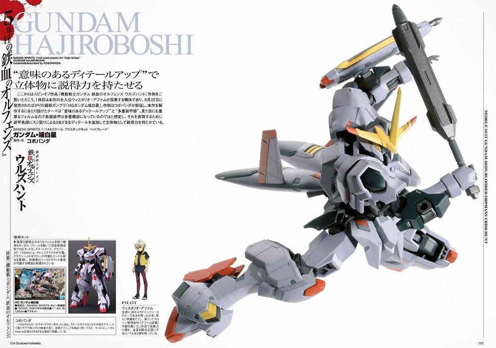 ガンダムフォワード Vol.3 2020 SUMMER本(ホビージャパンHOBBY JAPAN MOOKNo.68156-25)商品画像_3
