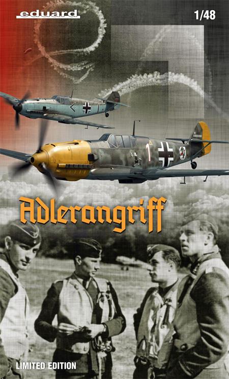 アドラーアングリフ作戦 デュアルコンボ メッサーシュミット Bf109E バトル・オブ・ブリテンプラモデル(エデュアルド1/48 リミテッドエディションNo.11144)商品画像