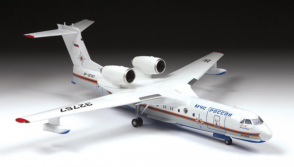 ベリエフ Be-200ES アルタイル 多目的水陸両用機プラモデル(ズベズダ1/144 エアモデルNo.7034)商品画像_3