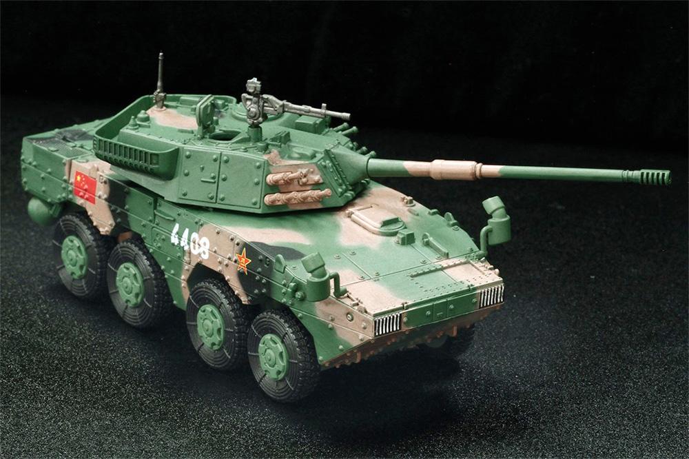 中国人民解放軍陸軍 ZTL-11 アサルトビークル クラウド迷彩仕様完成品(ドラゴン1/72 NEO DRAGON ARMOR (ネオ ドラゴンアーマー)No.63055)商品画像_2