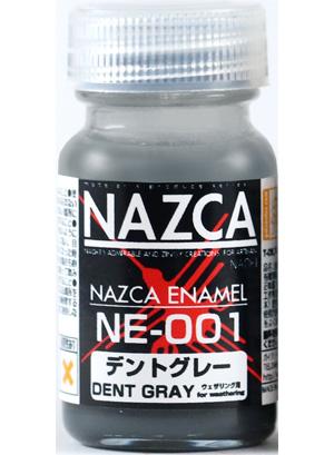 NE-001 デントグレー塗料(ガイアノーツNAZCA カラー エナメルNo.30730)商品画像