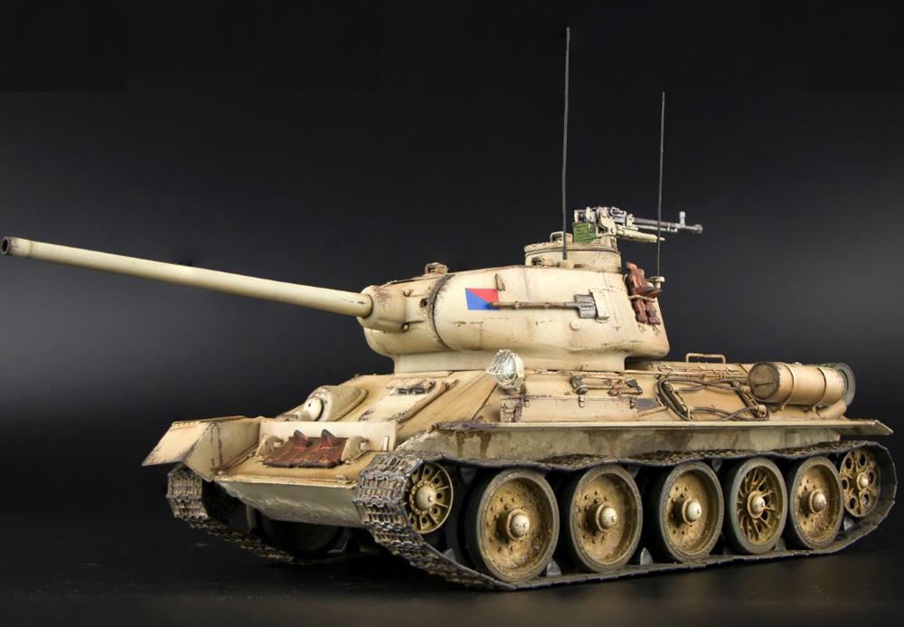 エジプト軍 T-34/85 インテリアキットプラモデル(ミニアート1/35 ミリタリーミニチュアNo.37071)商品画像_2