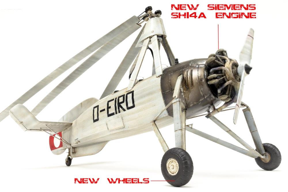 フォッケウルフ C.30A ホイシュレッケ 後期型プラモデル(ミニアートエアクラフトミニチュアシリーズNo.41018)商品画像_2