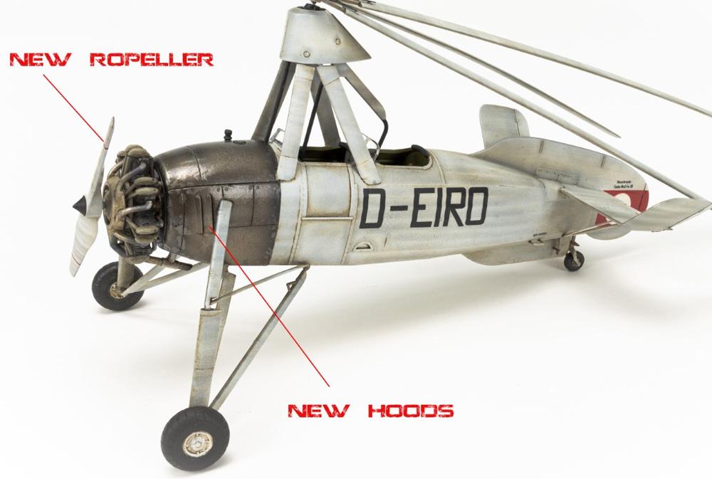 フォッケウルフ C.30A ホイシュレッケ 後期型プラモデル(ミニアートエアクラフトミニチュアシリーズNo.41018)商品画像_3