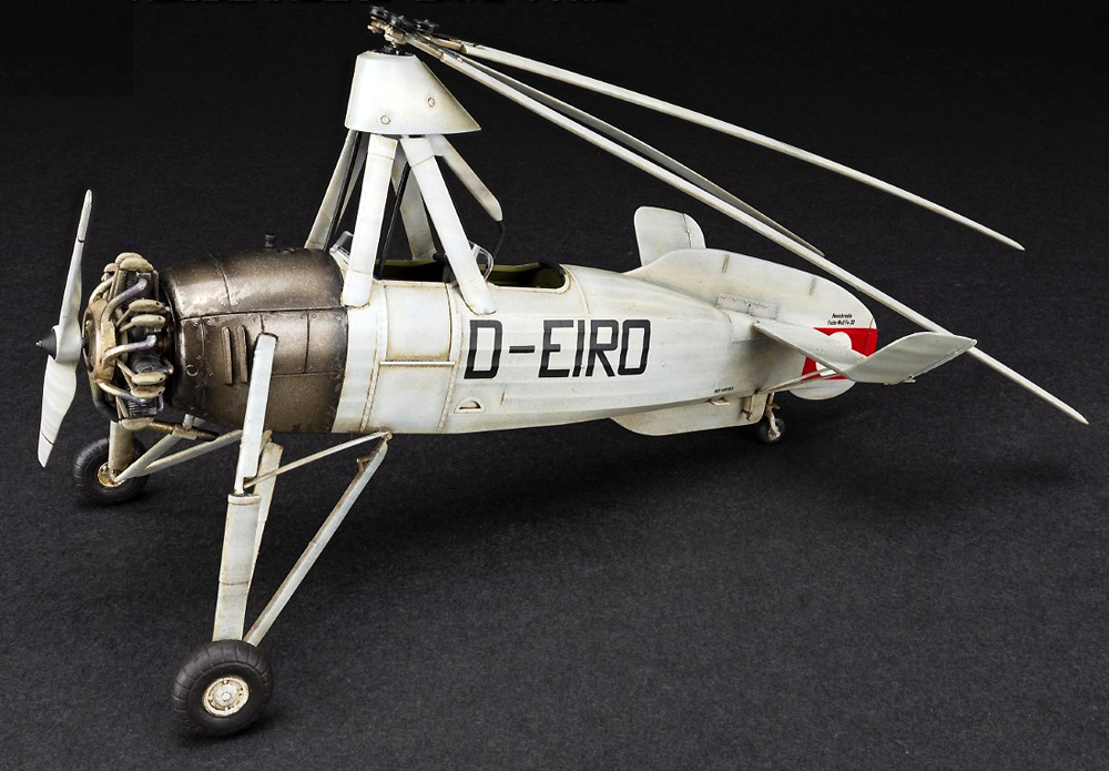 フォッケウルフ C.30A ホイシュレッケ 後期型プラモデル(ミニアートエアクラフトミニチュアシリーズNo.41018)商品画像_4