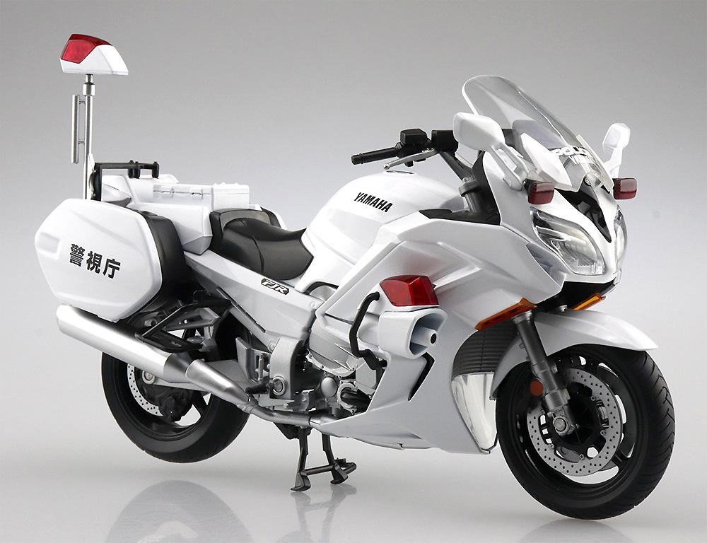 ヤマハ FJR1300P 白バイ (警視庁)完成品(アオシマ1/12 完成品バイクシリーズNo.106785)商品画像_1