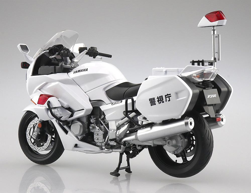 ヤマハ FJR1300P 白バイ (警視庁)完成品(アオシマ1/12 完成品バイクシリーズNo.106785)商品画像_2