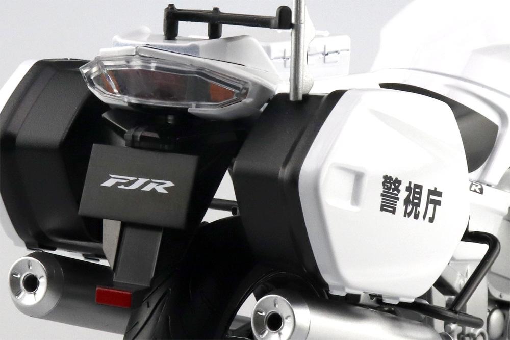 ヤマハ FJR1300P 白バイ (警視庁)完成品(アオシマ1/12 完成品バイクシリーズNo.106785)商品画像_4