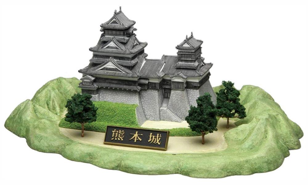 熊本城プラモデル(フジミ名城シリーズNo.001)商品画像_2