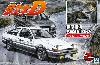 藤原拓海 AE86 トレノ ドライバーフィギュア付