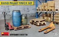 ハンドパレット トラックセット (パレット/容器付)