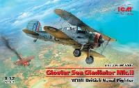 グロスター シーグラジエーター Mk.2 イギリス海軍 戦闘機