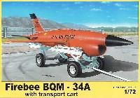 BQM-34 ファイア・ビー 高速標的機 w/カート