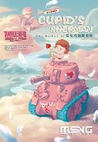 MENG-MODELWORLD WAR TOONSキューピッドのシャーマン