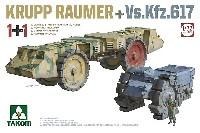 タコム1/72 ミリタリークルップ ロイマー + Vs.Kfz.617