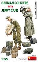 ミニアート1/35 WW2 ミリタリーミニチュアドイツ兵とジェリカン