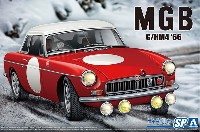 アオシマ 1/24 ザ・モデルカー BLMC G/HM4 MG-B CLUB RALLY Ver. '66