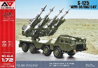 S-125 NEVA-SC 自走地対空ミサイル (MAZ-543車体)