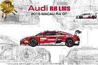 NuNu1/24 レーシングシリーズアウディ R8 LMS 2015 マカオ FIA GT3 ワールドカップ