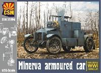 ミネルヴァ装甲車 ベルギー WW1 装甲車