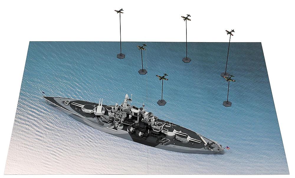 レイテ沖海戦 (BB-48 ウエスト・ヴァージニア VS 日本海軍航空隊)プラモデル(ピットロードスカイウェーブ S シリーズNo.SPS009)商品画像_1
