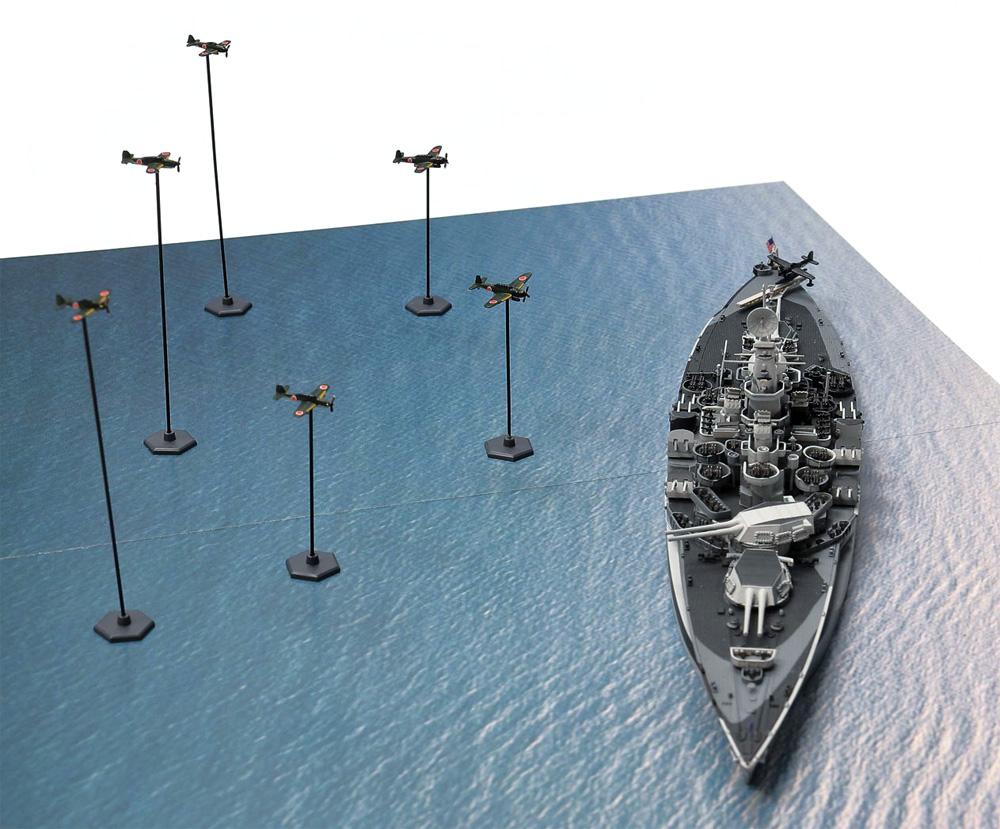 レイテ沖海戦 (BB-48 ウエスト・ヴァージニア VS 日本海軍航空隊)プラモデル(ピットロードスカイウェーブ S シリーズNo.SPS009)商品画像_3