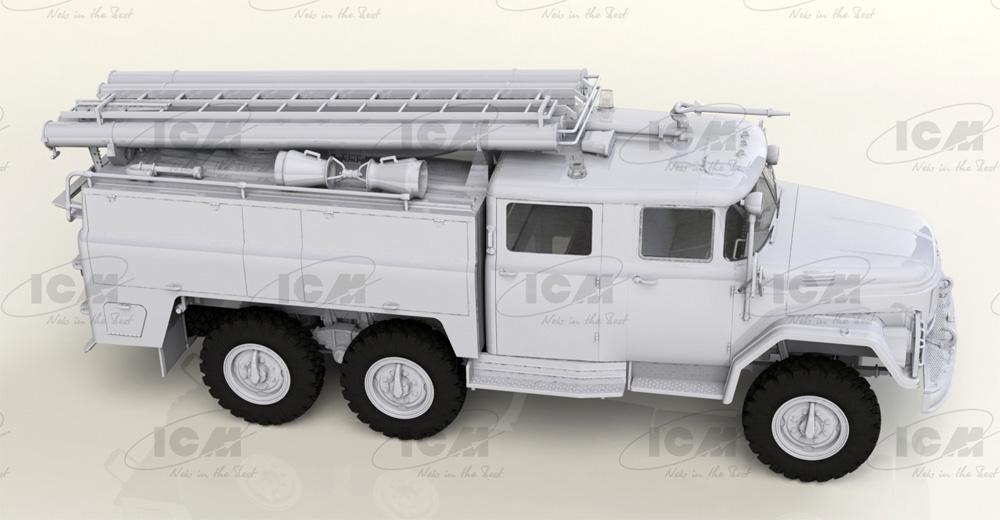 ソビエト AC-40-137A 消防車プラモデル(ICM1/35 ミリタリービークル・フィギュアNo.35519)商品画像_3