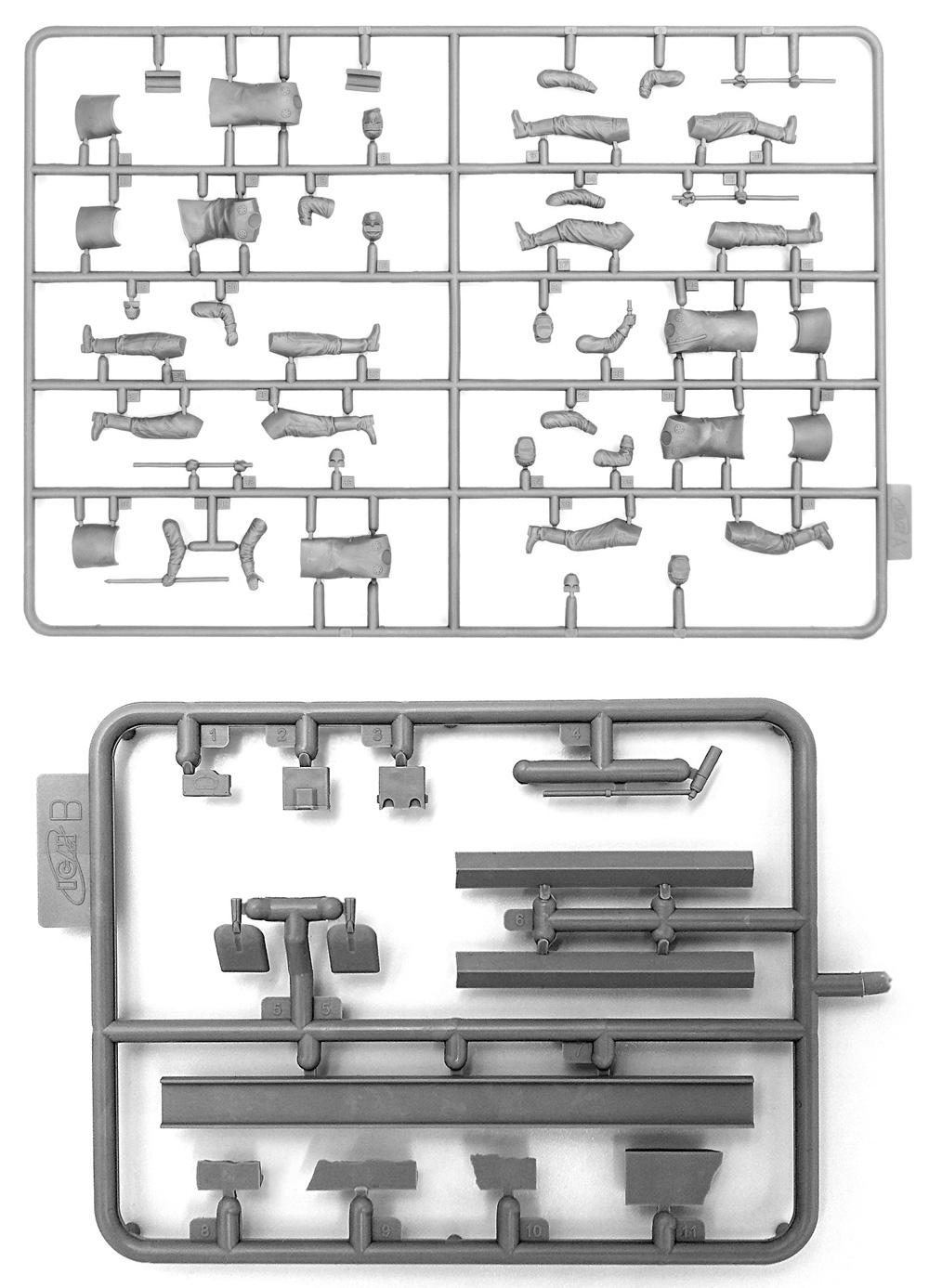 チェルノブイリ #3 瓦礫処理作業員プラモデル(ICM1/35 ミリタリービークル・フィギュアNo.35903)商品画像_1