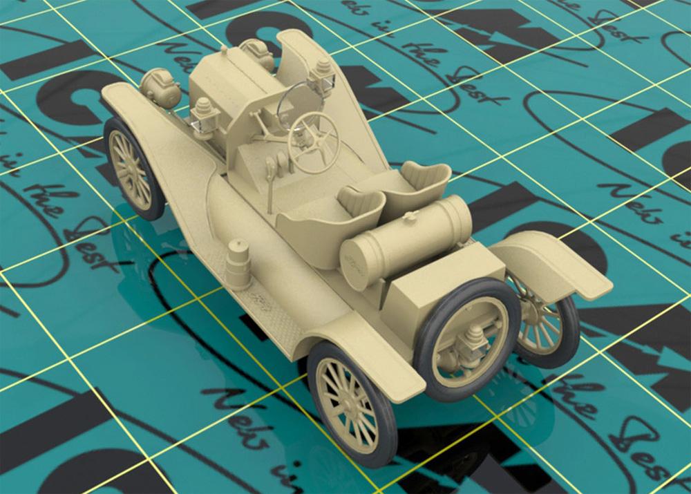 T型フォード 1913 スピードスター w/ドライバープラモデル(ICM1/24 カーモデルNo.24026)商品画像_2