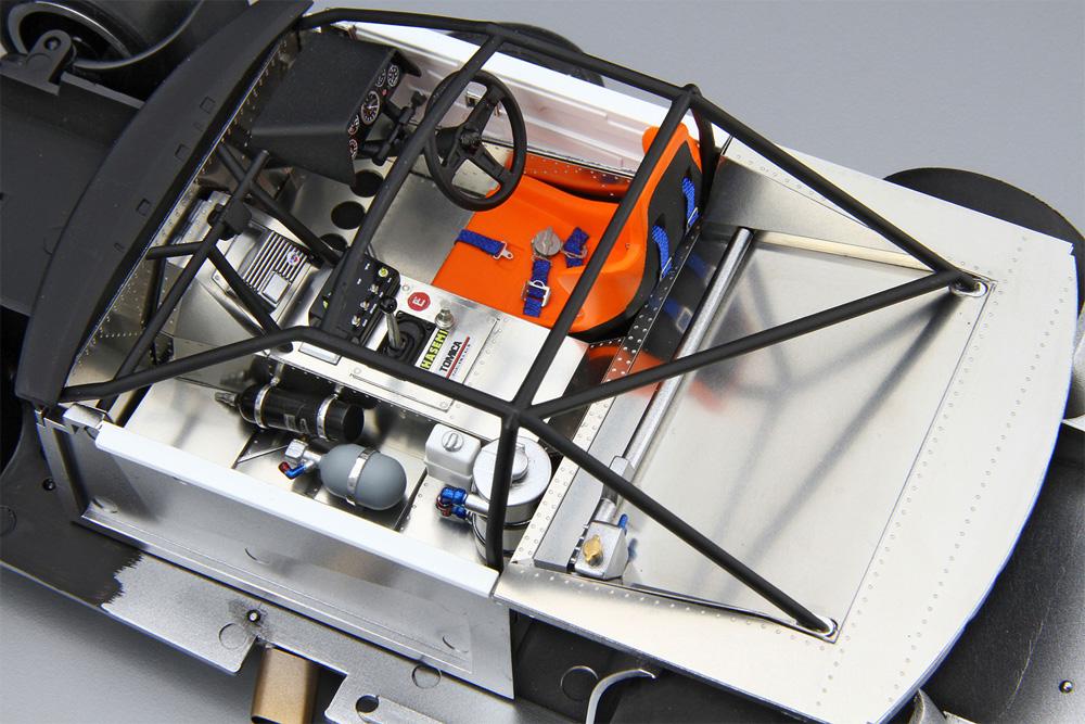 ニッサン KDR30 スカイライン スーパーシルエット '82 SDプラモデル(アオシマ1/24 ザ・モデルカーNo.SP4905083061237)商品画像_4