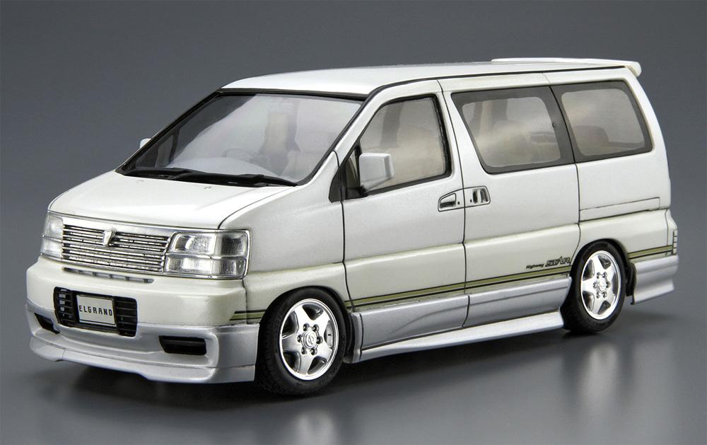 ニッサン E50 エルグランド '99プラモデル(アオシマ1/24 ザ・モデルカーNo.123)商品画像_2