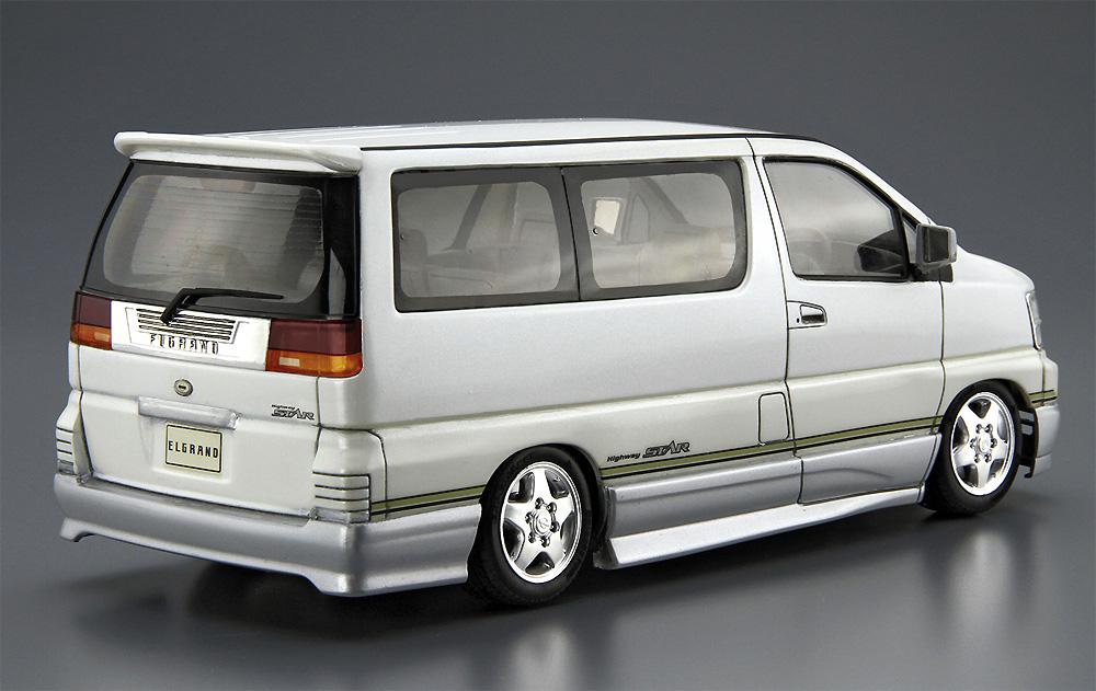ニッサン E50 エルグランド '99プラモデル(アオシマ1/24 ザ・モデルカーNo.123)商品画像_3